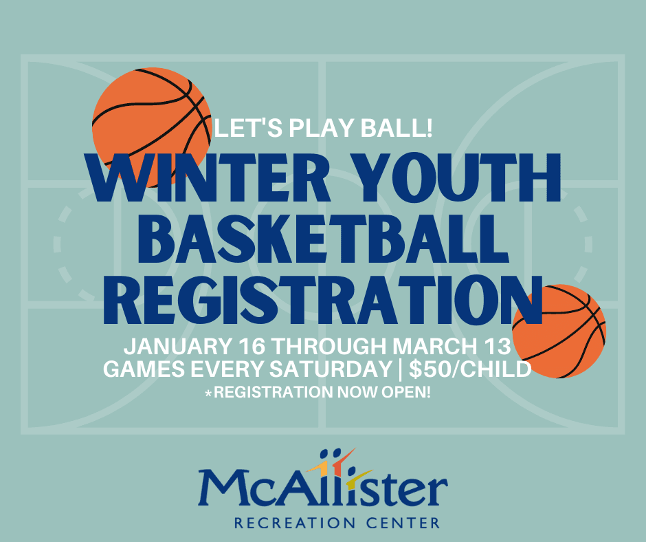 Winter Youth Basketball Registration