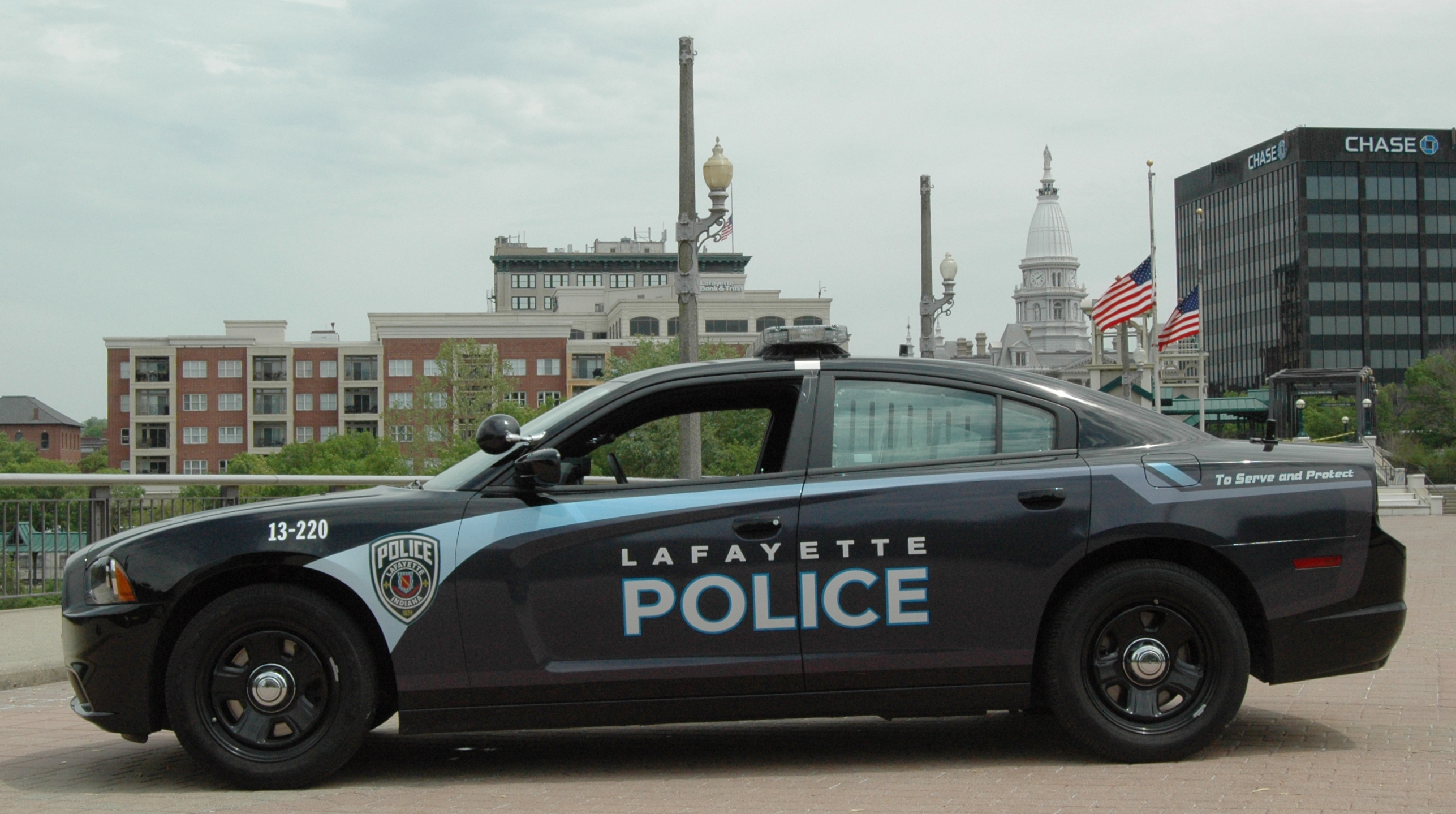 Lafayette Police Department Squad Car
