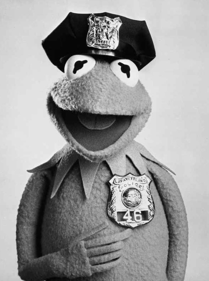 Officer Kermit Badge 46